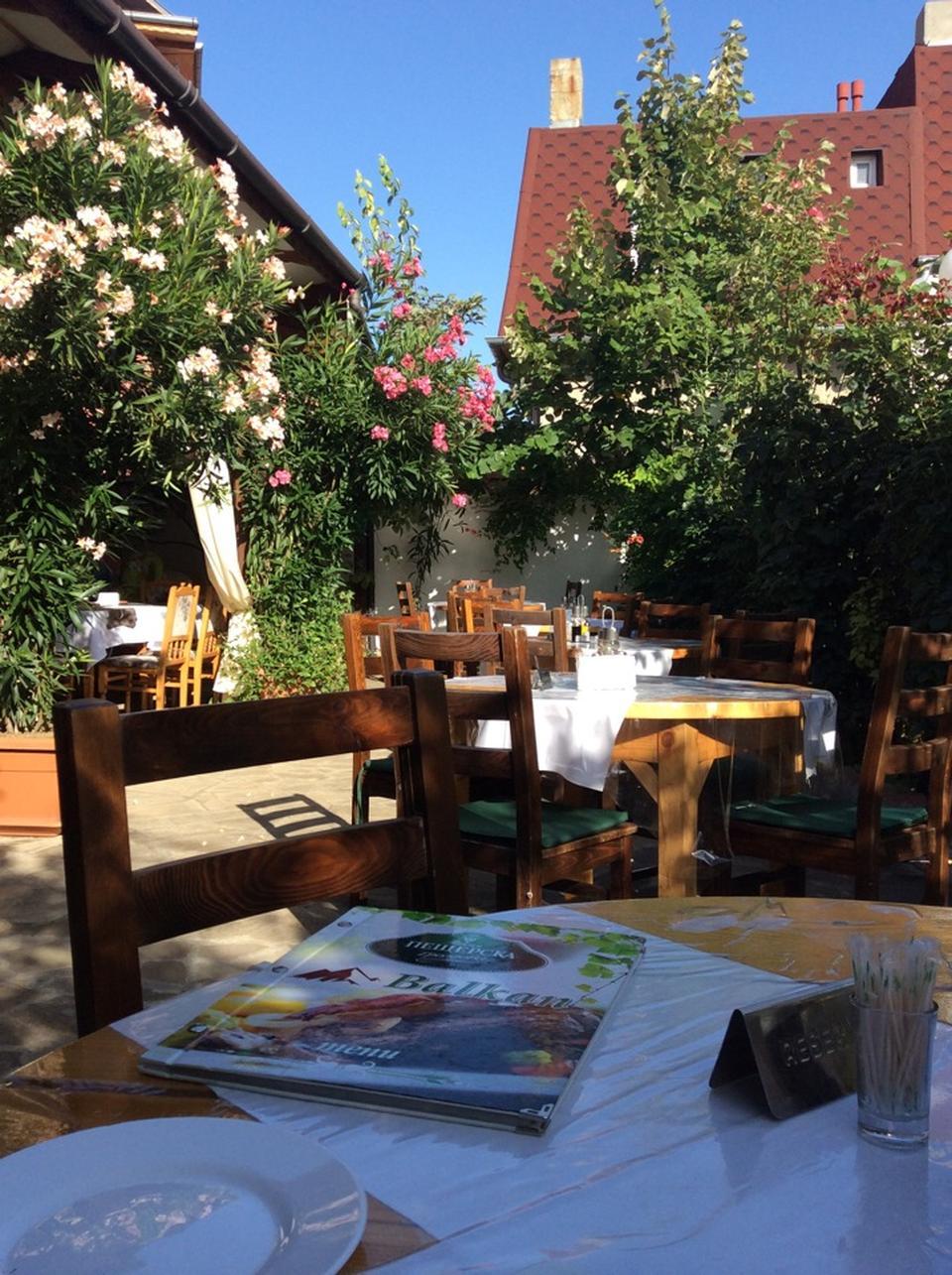 Ресторан Балкан Святой Влас