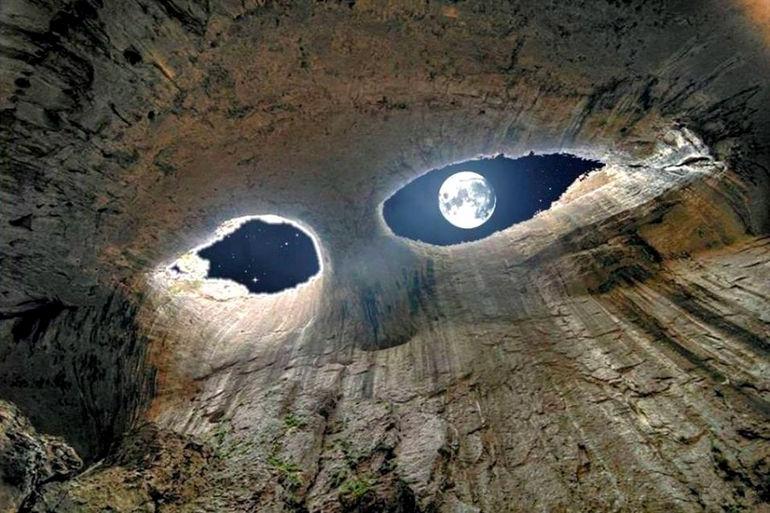 Пещера Глаза Бога Болгария