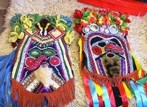 Кукерские маски Болгария. Сувениры Болгарии