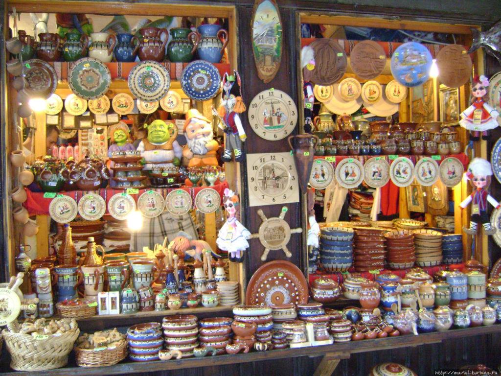 Лучшие сувениры Болгарии