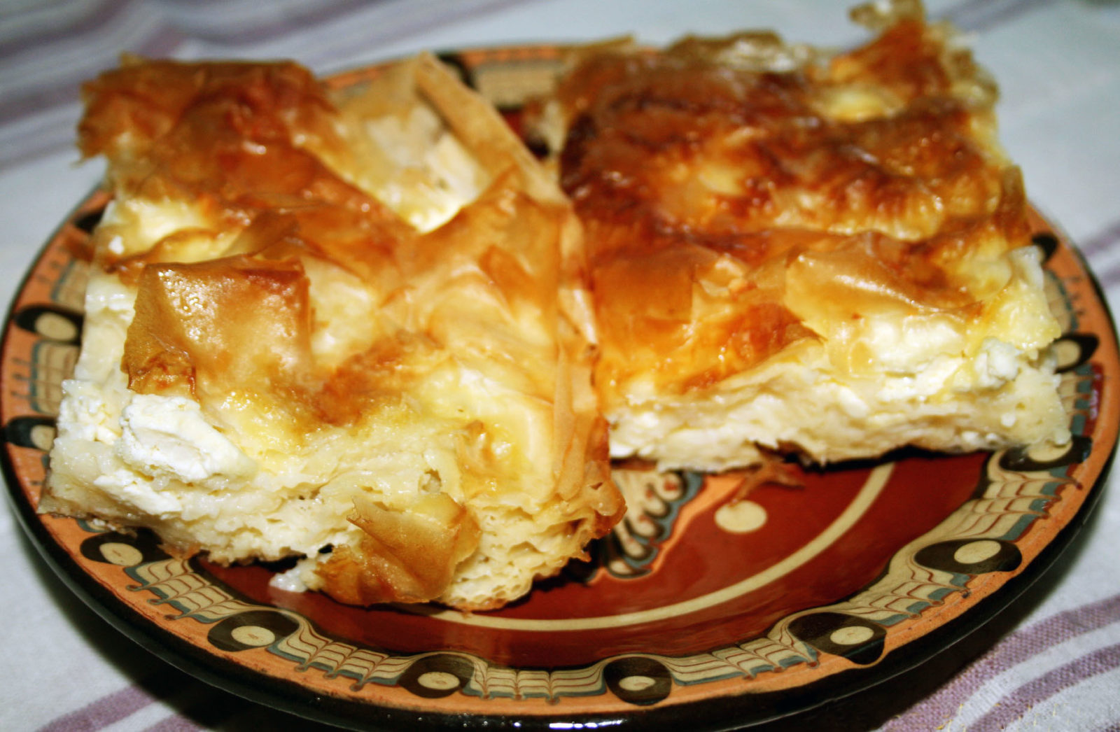Баница - Болгарская национальная кухня