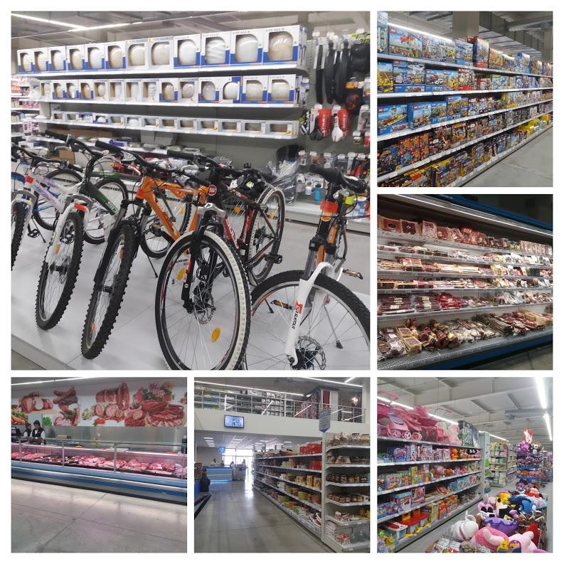 Продукты и товары в супермаркете Жанет