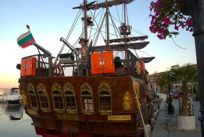 Пиратский корабль Святой Влас