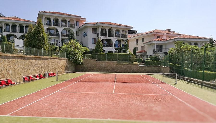Теннисный корт Святой Влас, Болгария