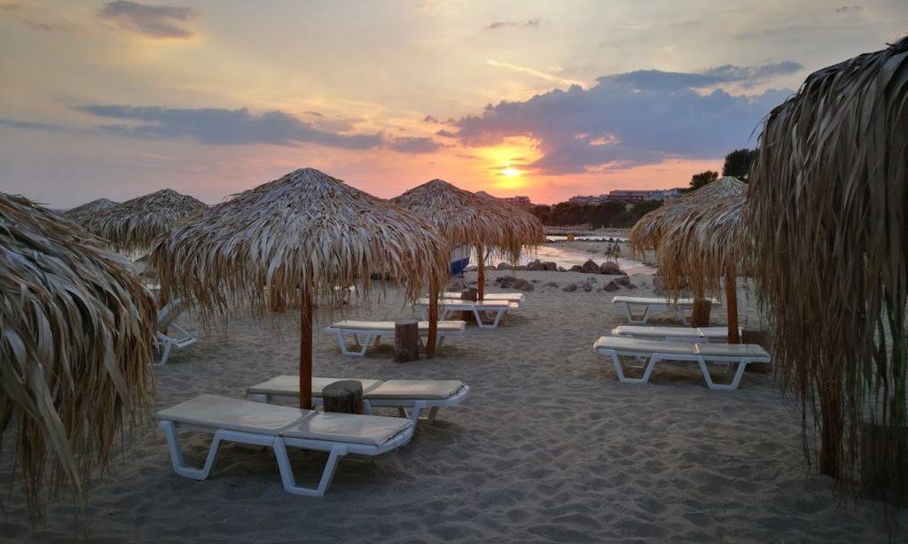 Пляж Новый Святой Влас Болгария