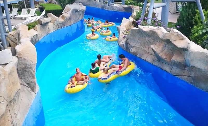 Рафтинг речка аквапарк Несебр