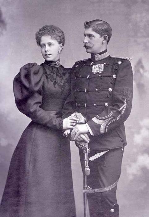 Королева Румынии Мария и Фердинанд,