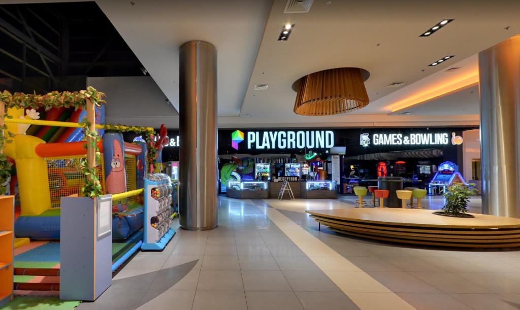 Игровая зона последний этаж Галерея Бургас