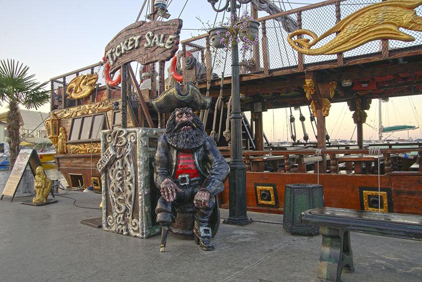 Пиратский корабль Святой Влас Болгария