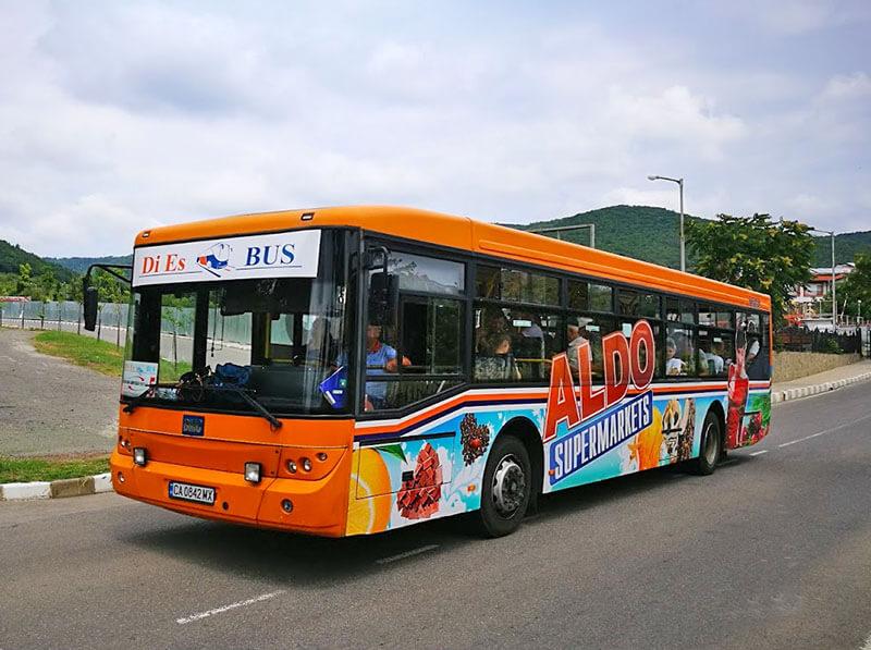 Автобус Свети Влас маршрут 5